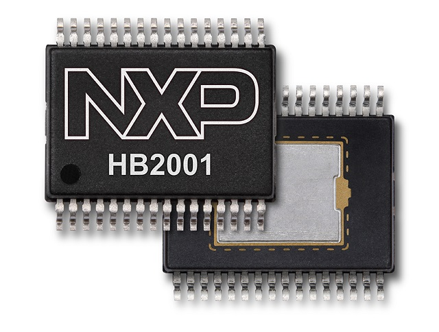 HB2001 SPI Programmable H-Bridge Brushed DC Motor Driver (SOIC)
