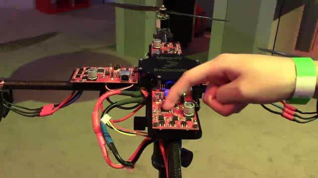 S12 MagniV® Mixed-Signal MCU Drone