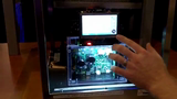 Refrigerator with user touch display built with K70 and DSC - Demo