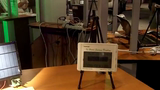 Solar panel energy monitor with wireless in home display - Demo