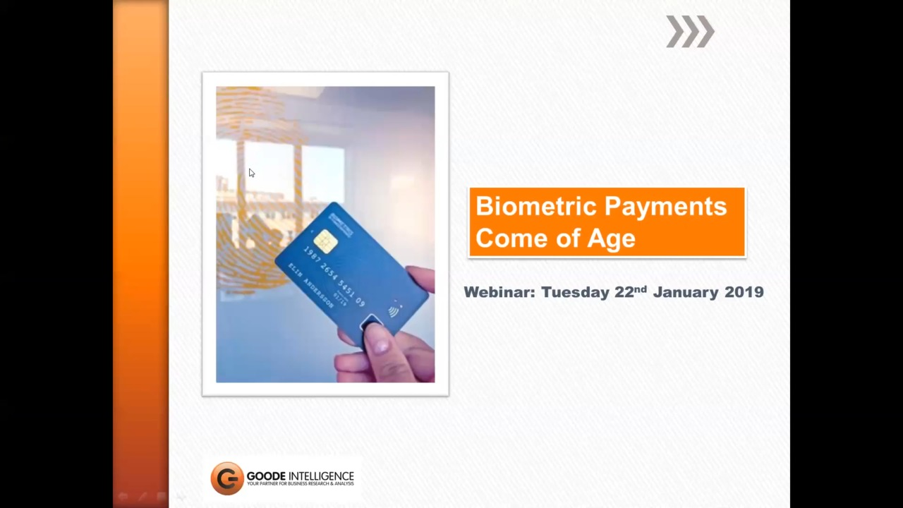 Biometric Payments Come of Age thumbnail