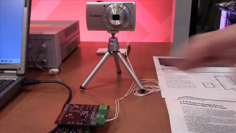 Camera Zoom using MC34933EP Low-Voltage H-Bridge Motor Driver - Demo thumbnail