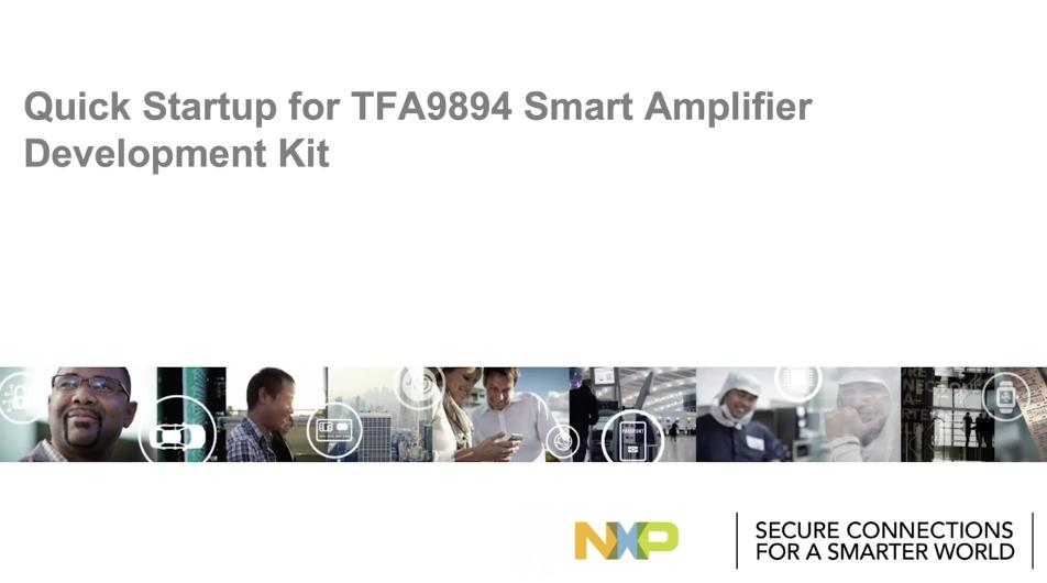 TFA9894: Highly power-efficient DSP embedded class-D audio amplifier