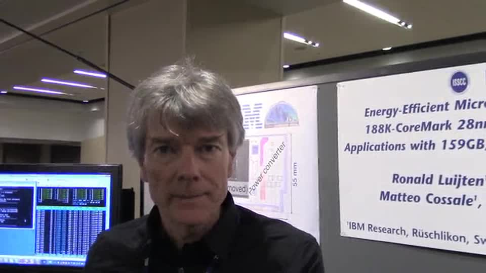 ISSCC Interview with IBM's Ronald Luijten thumbnail