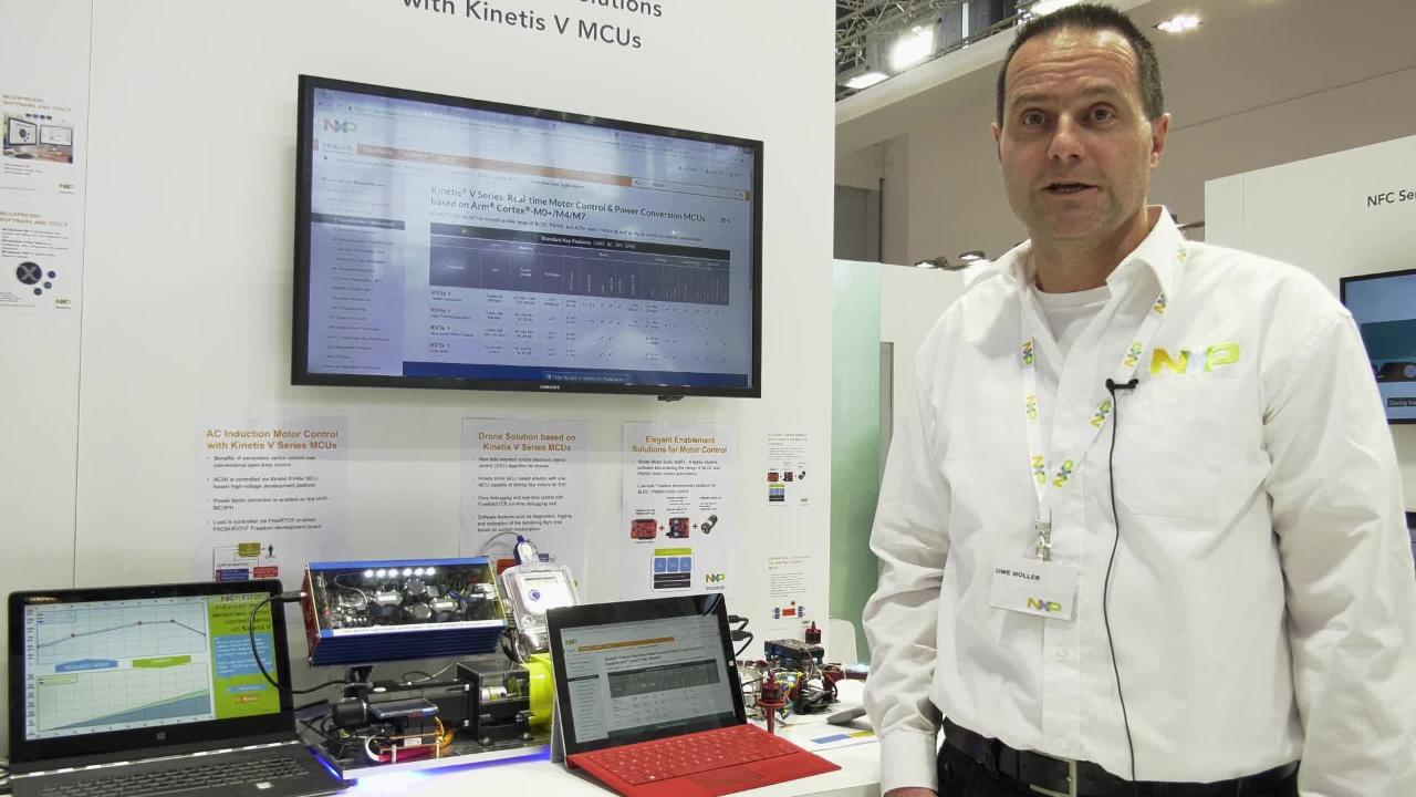 Motor Control Made Easy with Kinetis V Series MCUs  thumbnail