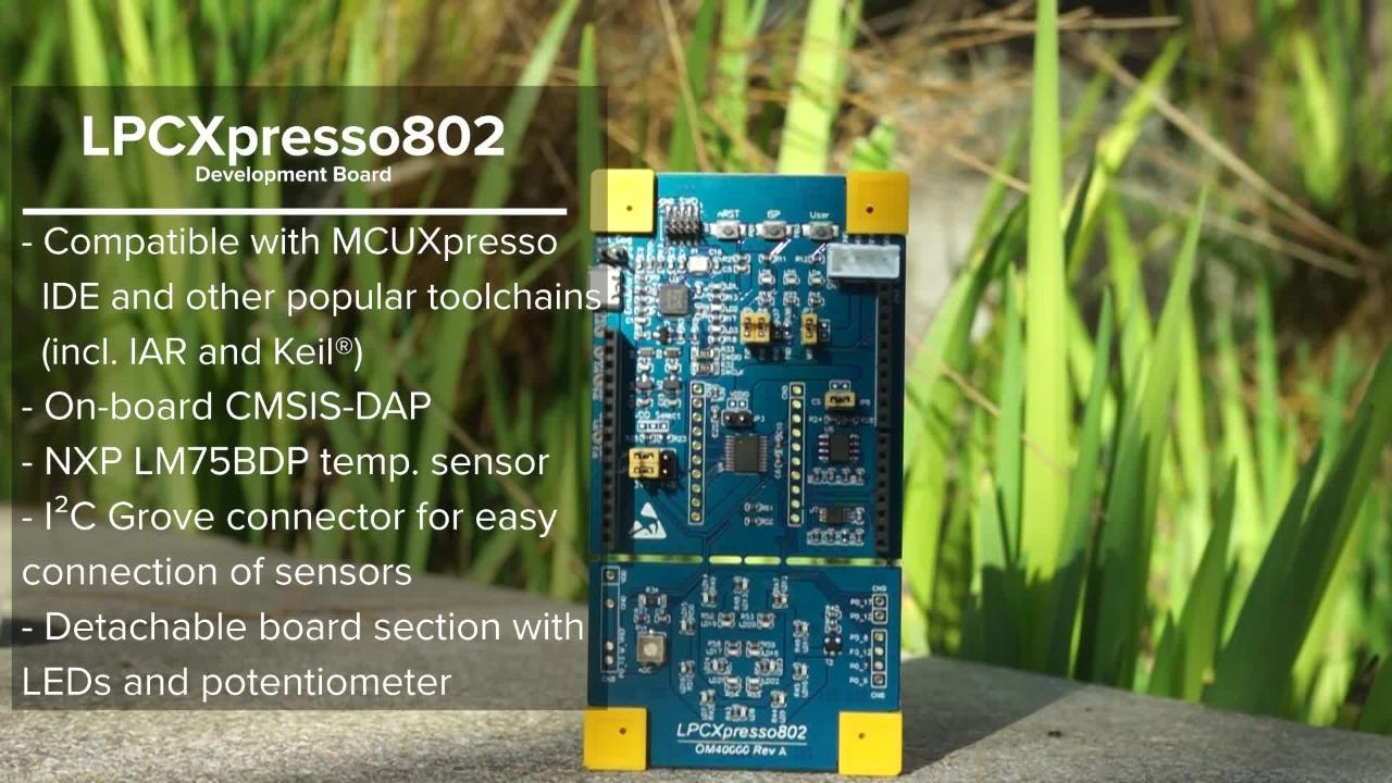 Introducing the low-cost LPC802 MCU  thumbnail