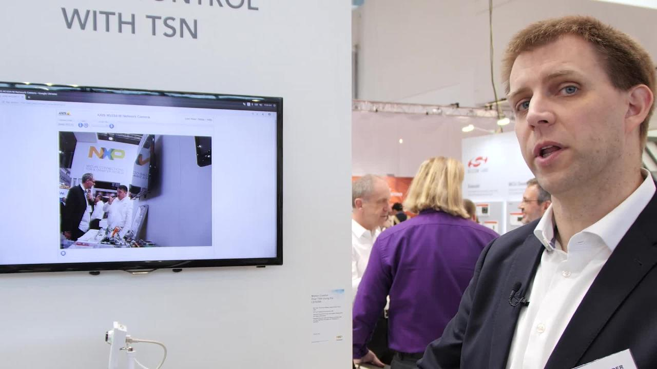 Motion Control with TSN Using NXP's LS1028A industrial applications processor  thumbnail