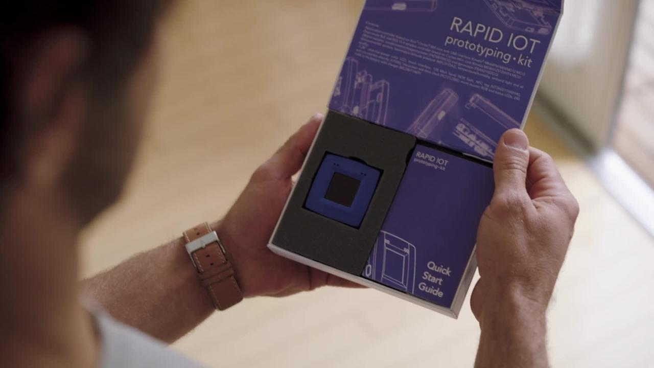 The new Rapid IoT prototyping kit from NXP thumbnail