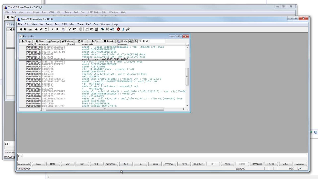 Debug an APEX2 Project Using Lauterbach TRACE32  thumbnail