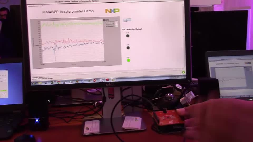 NXP<sup>&#174;</sup> Sensor Toolbox Demo at FTF 2016 thumbnail