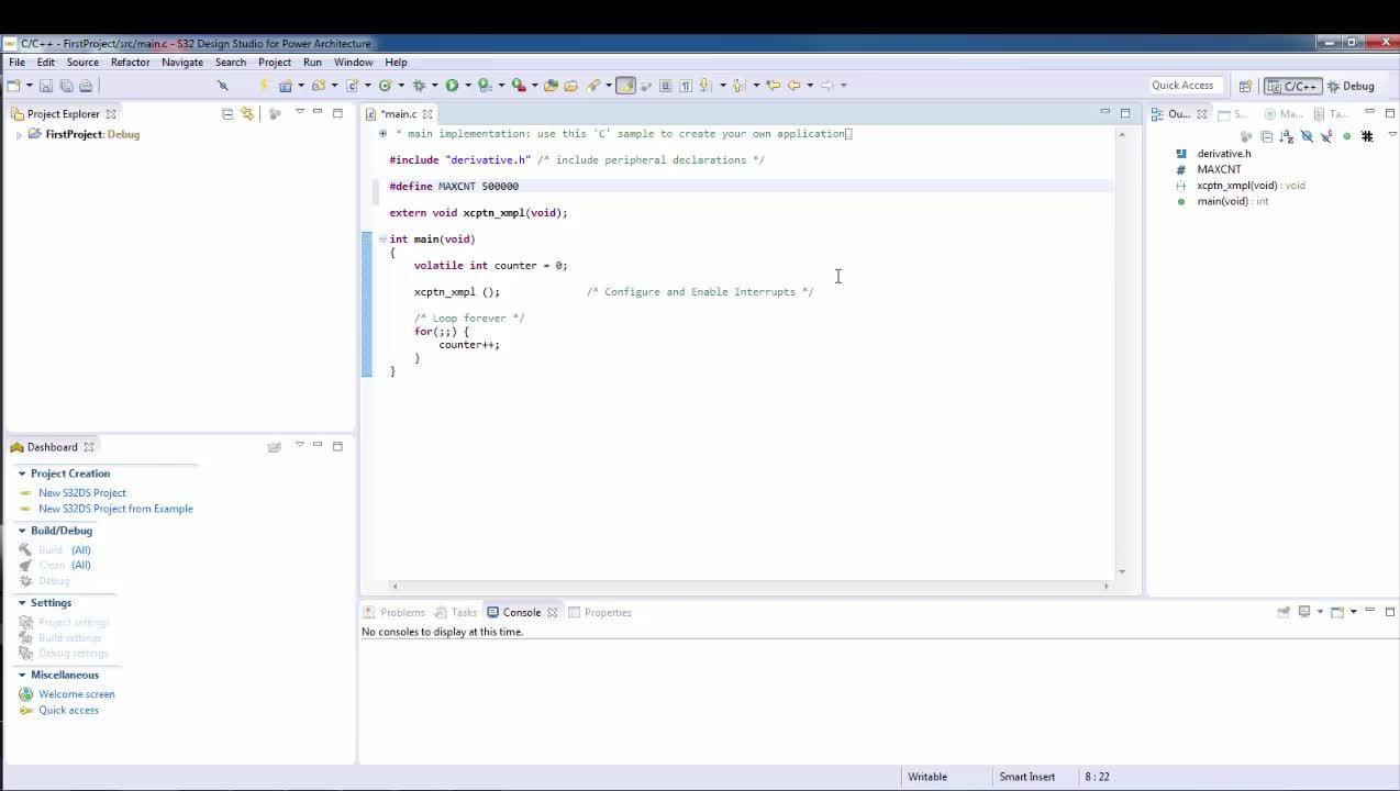 Write your own program DEVKIT-MPC5744P Low Cost Development Board  thumbnail