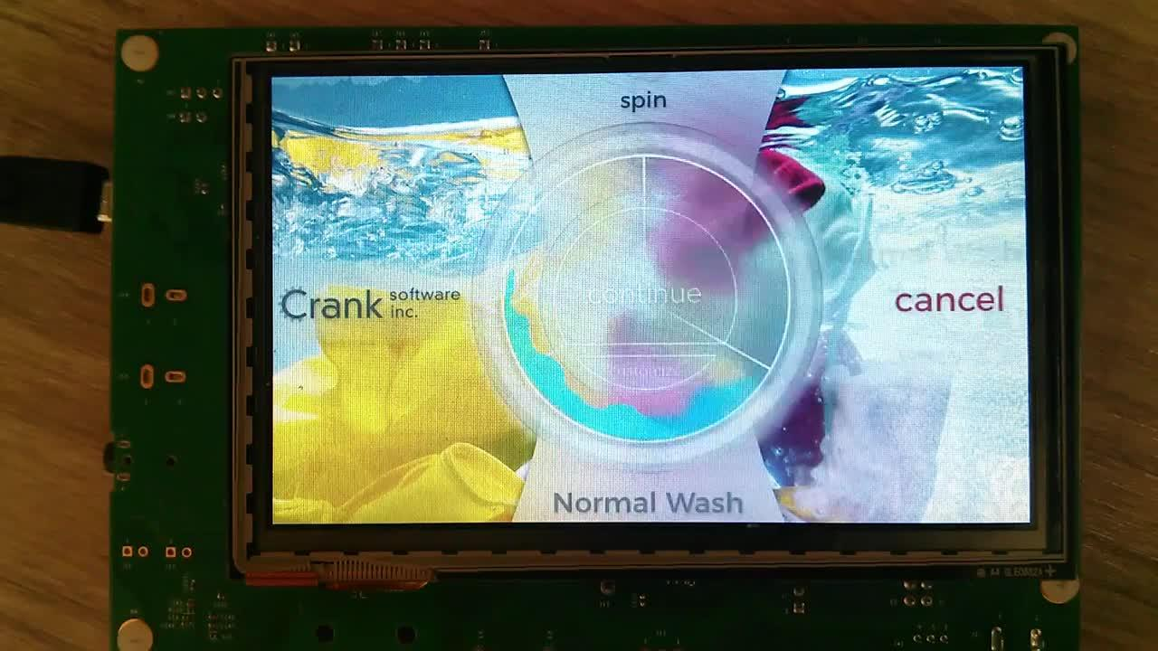 Storyboard Suite Washing Machine demo for the NXP i.MX RT1060 thumbnail